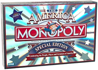 Parker Brothers Monopoly the America Special Edition
