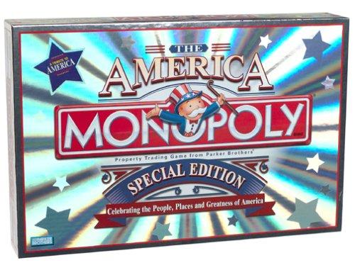 Monopoly ~ the America ~ Special Edition by Parker Brothers: Amazon.es: Juguetes y juegos