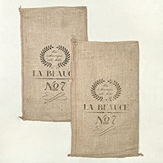 french grain sack fabric
