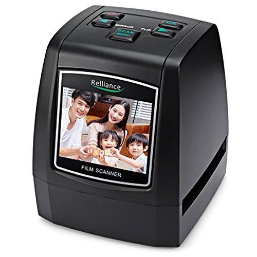 QUMOX Scanner négatif de glissière de Photo de Scanner de Film de 14MP 22MP 2.4' LCD