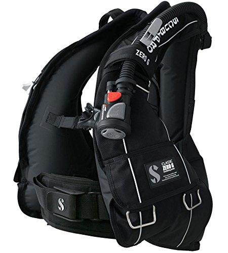 SCUBAPRO CLASSIC ZERO G スキューバプロ クラシック ゼロ G BCジャケット ブラック (BPI付き) (S)