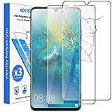ebestStar - kompatibel mit Huawei Mate 20 X Panzerglas [x3 Pack] (2019) Schutzfolie Glas, Schutzglas Bildschirmschutz, Bildschirmschutzfolie 9H gehärtes Glas [20X: 174.6 x 85.4 x 8.4mm, 7.2'']