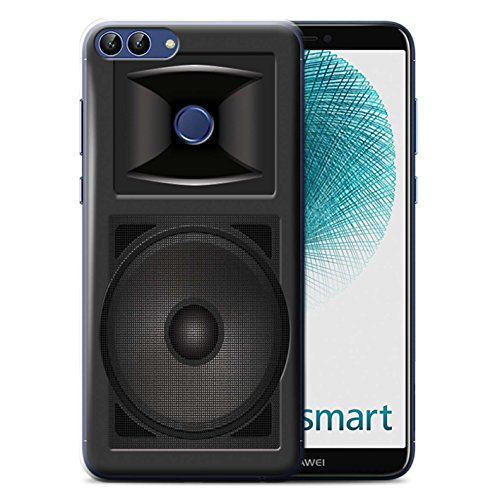 Stuff4® Phone Case/Cover/Skin/HUAGP-CC/Speaker Design Collection Huawei P Smart Studio Monitor