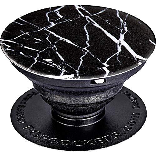 PopSockets Ausziehbarer Sockel & Handgriff für Smartphone/Tablet Schwarz Marble