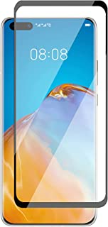 Al-HuTrusHi Screen Protector compatible with Huawei P40 Pro / P40 Pro Plus,HD Clear 3D [3D Curved] [Full Coverage] Anti-Sc...