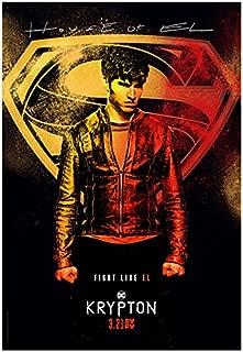 Cameron Cuffe 8 inch X 10 inch photograph Krypton (TV Series 2018 - )