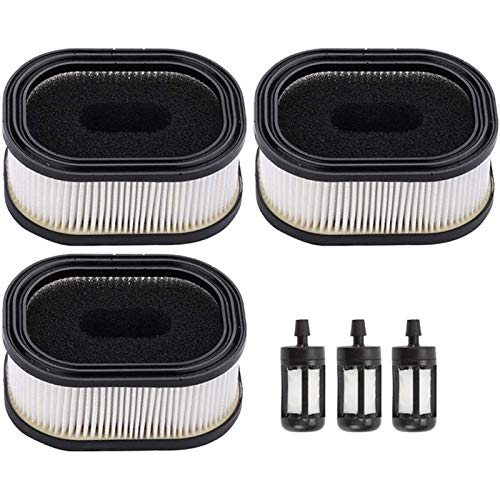MAMINGGANG MmGang®. MS440 MS460 Air Filter Cleaner Fit für Stihl MS441 MS640 MS650 MS660 MS780 MS880 044 046 064 066 Kettensäge mit Kraftstofffilter (Color : Black White)
