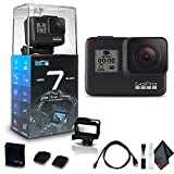 GoPro HERO7 Black - Waterproof Action Camera with Touch Screen (HERO7 Black), 4K...