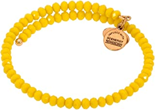 Womens Pebble Wrap, Mango Bracelet