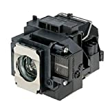 Electrified ELPLP55 V13H010L55 Replacement Lamp with Housing for Epson Projectors