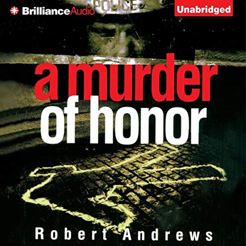 A Murder of Honor audiobook cover art
