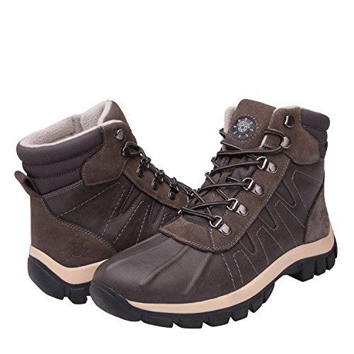 GlobalWin - 16303 Snow Boots 8.5 M US Grey