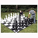 NBVCX Life Accessories Giant Chess Pieces Outdoor Puzzle Entertainment Family Party