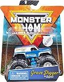 Monster Jam - 6054811 - Jouet enfant - Pack de 1 véhicule Grave Digger The Legend - Véhicule échelle 1:64 - Voiture Monster Truck
