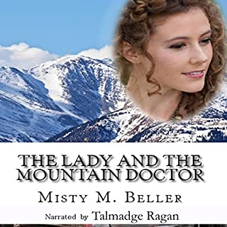 The Lady and the Mountain Doctor audiobook cover art