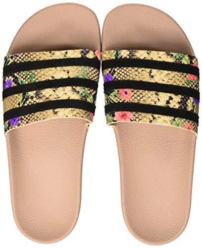 adidas Damen Adilette W Sneaker, St Pale Nude/Core Black/St Pale Nude, 38 EU