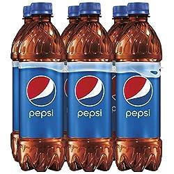 Pepsi, Bottles 16.9 Fl Oz (pack of 6)