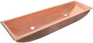 copper trough sink