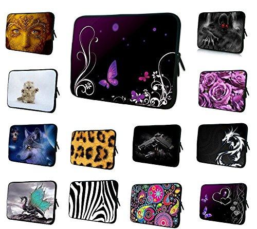 ARBUYSHOP 7 8 9,7 10 12 13 15 17-Zoll-Tablet-Hülsen-Kasten Mini-PC-Laptop-Tasche 10.6 12.1 13.3 15.4 15.6 Computer-Handbag Soft-Schutz-Abdeckung
