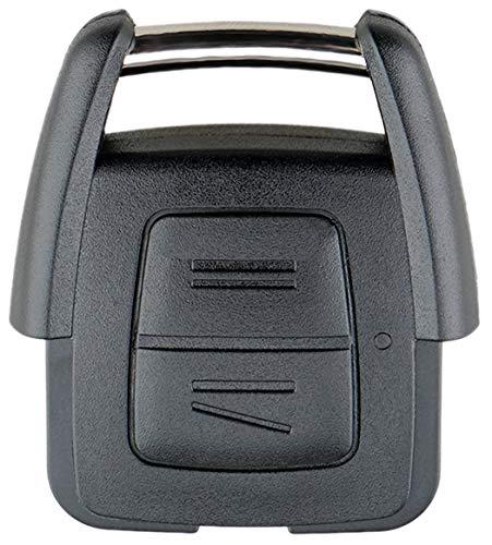 Liamgate Ersatz Schlüsselgehäuse geeignet für Opel-Astra-G-Schlüssel-mit-2-Tasten