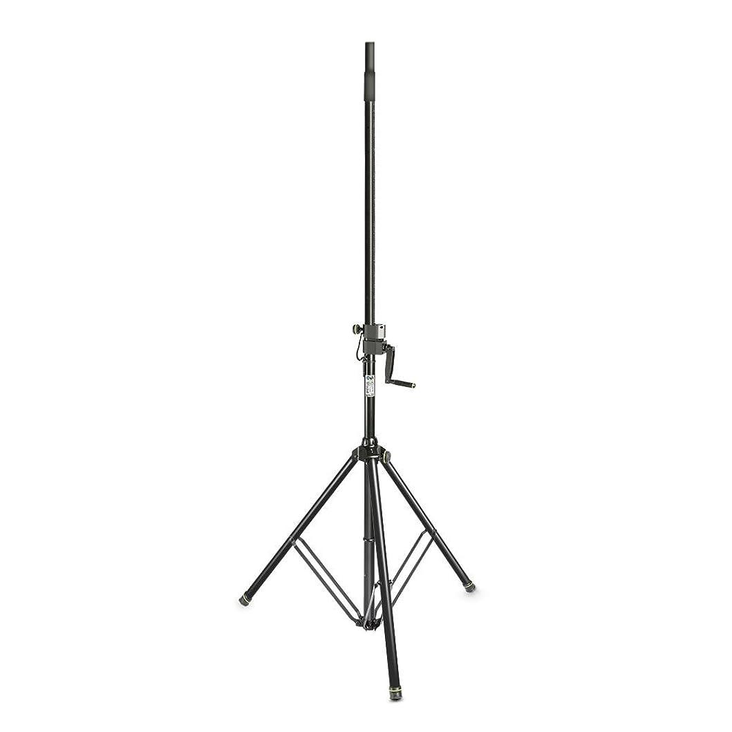 技術者ブレイズ料理Gravity グラビティ ワインドアップ スピーカースタンド Wind Up Speaker Stand ブラック GSP4722B