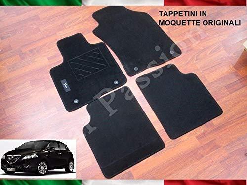 FCA Set TAPPETINI 2011> Moquette Originali 4 PZ Ant + Post Logo