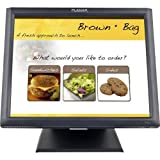 Planar PT1745R 17' LCD Touchscreen Monitor - 1280 x 1024 - 5 ms - Adjustable Display Angle - Speakers - USB - VGA - Black 997-5969-00