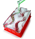 Reusable Ice Luge (Double Track) - Just Add Water, Freeze and Enjoy Within 24 Hours - Great Drinking Accessory - A Perfect Center Piece To Any Party