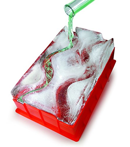 Reusable Ice Luge (Double Track) - Just Add Water, Freeze and Enjoy...