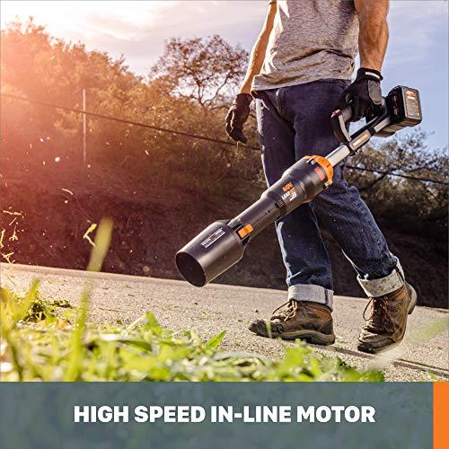 WORX Nitro WG585 40V Power Share PRO LEAFJET Cordless Leaf Blower with Brushless Motor