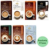 Cafe Latory Coffee Randomly 2.3oz 5Types Flavors Selection Various Assortment Japanese Instant Coffee AGF Ninjapo