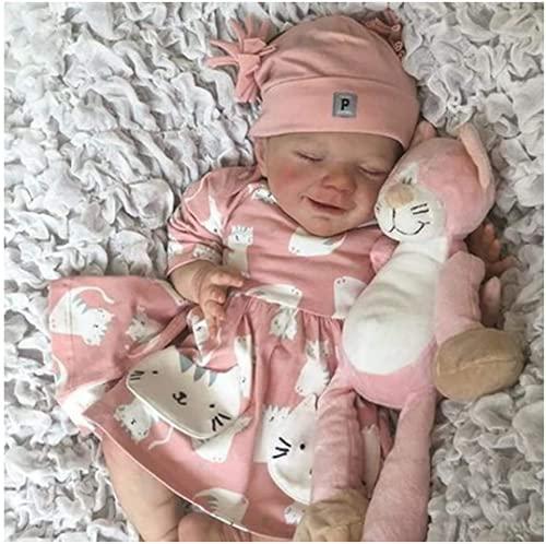 Realistic Reborn Baby Dolls - 18inch Reborn Girl Toddler , Full Body Silicone 10-Year-Old Realistic Doll , Birthday Reborn Gifts