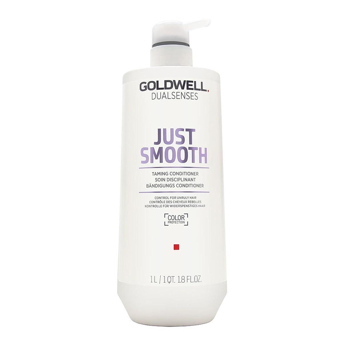 統治する教義広告Goldwell Dualsenses Just Smooth Taming Conditioner 1000ml