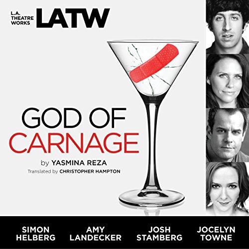 God of Carnage audiobook cover art