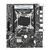 Ordinateur de carte mère X99 Gt Carte mère Gigabit DDR4 Desktop avec Xeon E5 USB3.0 NVME M.2 SSD Prise en charge de la carte mère COM WIFI Desktop Motherboard CPU Combo Upgrades PCIe DDR4 NVMe Ports G