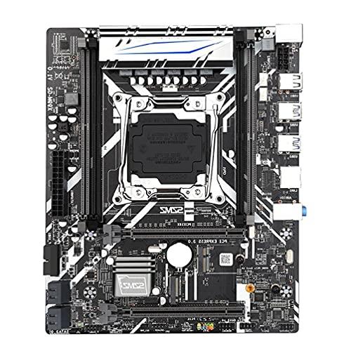 X99 Gt Placa base Computadora Placa base Gigabit DDR4 Escritorio con Xeon E5 USB3.0 NVME M.2 Placa base SSD Soporte COM WIFI Placa base de escritorio CPU Combo Actualizaciones Puertos PCIe DDR4 NVMe J