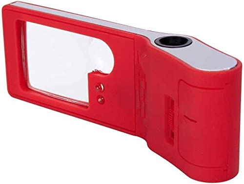 Multifunktions-VerGrößerungsglas-LED-Licht tragbare tragbare ABS-Umwelt-Material-MikroskopÃlesezeitung-Schmucksachen-Anerkennung