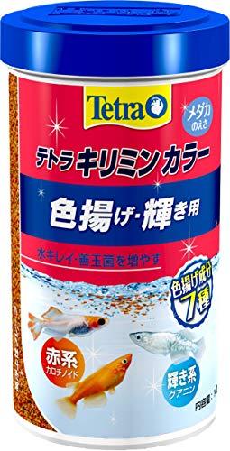 テトラ (Tetra) キリミン カラー メダカ用 140g
