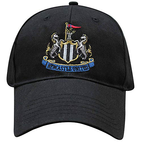 Official Newcastle United Football Crest Baseball Cap (100% Cotton & Adjustable)
