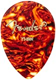 Fender 358 Shape Classic Celluloid Picks (72 Pack) for electric guitar, acoustic guitar, mandolin, and bass, Thin, 1/2 Gross