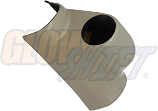 GlowShift Taupe Single Gauge Pillar Pod for 2003-2009 Dodge Ram Cummins 1500 2500 3500 - Factory Color Matched - UV Protected - Mounts (1) 2-1/16