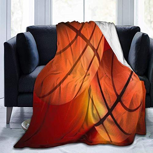 DAIAII Kuscheldecken Micro Blanket Basketball On Pinterest Fluffy Warm Toddler Bed/Crib Blanket Lightweight Flannel Daycare Nap Kids Sleeping Tummy Time Throw Blanket Girls Boy Clearance 40x50inch k