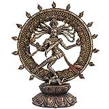 Pacific Giftware Hindu Shiva Nataraja Dancing Statue Bronze Finished