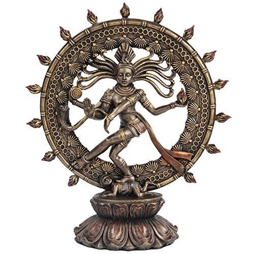 Hindu tanzende Shiva Nataraja Statue Bronze Finish