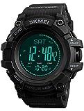 Findtime Herren Uhr Digital Quarzwerk mit Silikon Armband Kompass Schrittzähler Thermometer...