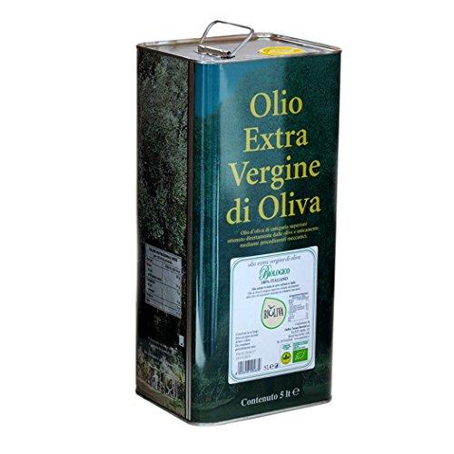 Olio Extra Vergine di Oliva Biologico 'Bioliva' - Oleificio Toscano Morettini (Latta 5 lt)