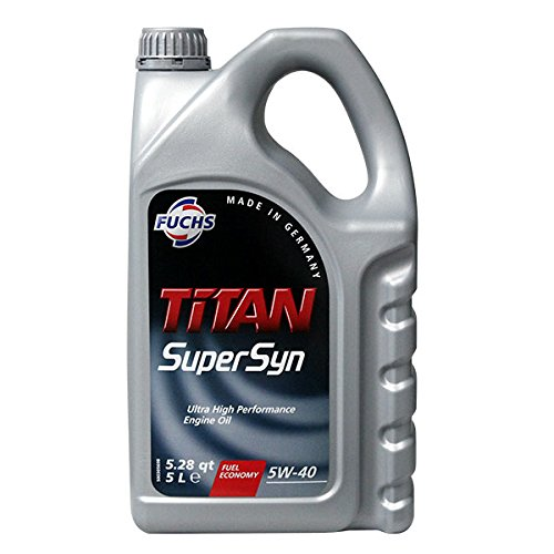 Fuchs 601425745 Motoröl Titan Supersyn 5W-40 5L