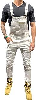 Shawnlen Men Dungarees Jumpsuits Denim Trousers Moto Biker Jeans Casual Retro Combat Cargo Bib Overalls