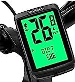 Qomolo Cuentakilómetros para Bicicleta, Ciclocomputador Impermeable con Español Idiomas,Computadora de Bicicleta Inalámbrica con Pantalla LCD, Velocímetros Puede Registrar 2 Datos