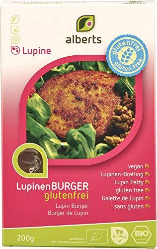 Alberts Bio Lupinen Burger glutenfrei (6 x 200 gr)